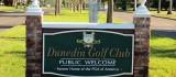 Entrance area to the Dunedin Golf Course